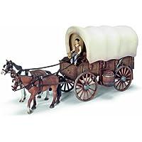Schleich 42024  -  Figura/ miniatura Indios, carros cubiertos