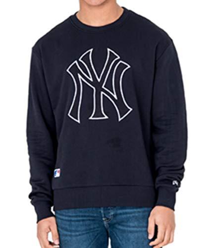 New Era Oversized Crewneck Sweater New York Yankees Post Grad Pack Navy (XXL) - Nfl Cowboys Sweatshirts Für Männer