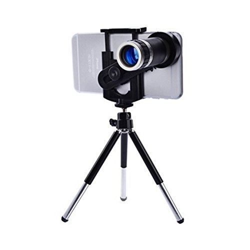 XTRA Zoomer 8X Optical Zoom Telescope Mobile Camera Lens Kit...