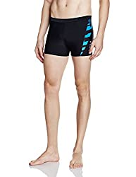 Reebok Mens Synthetic Shorts (4056563920367_AF2282_Small_Black)