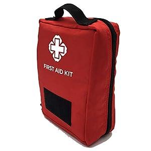 AIURBAG Klein Erste-Hilfe-Tasche Für Wandern Camping Reisen Auto & Radfahren Notfall-Medikamententasche