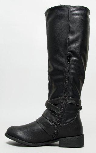 Bamboo A , Damen Reitsportschuhe Black CRP