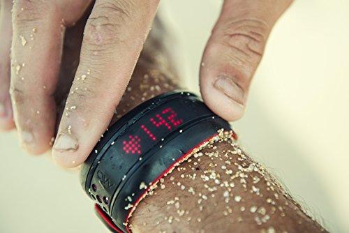 Mio FUSE Performance Activity Tracker mit Herzfrequenzmessung, Crimson, L -