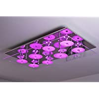 LED Deckenleuchte mit Farbwechsler und Fernbedienung