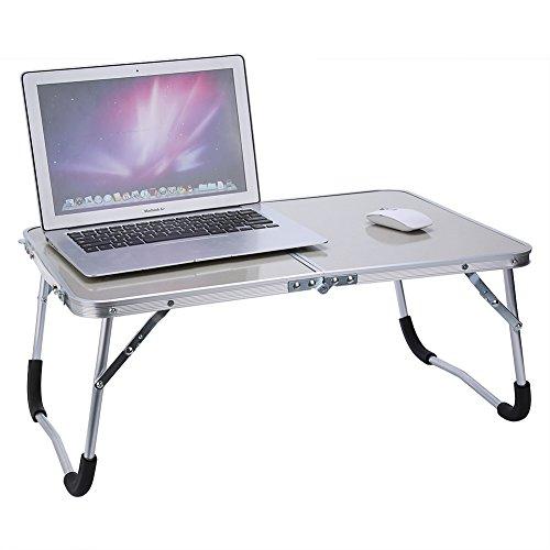 Cocoarm Multifunktionale Faltbare Laptoptisch Tragbare Klappbarer Notebooktisch Picknick Tisch Schlafsaal Notebook Schreibtisch Laptop Bett Tablett