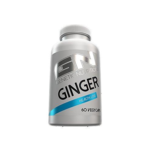 GN Laboratories Ginger Extract Health Line Fördert die Verdauung bessere Regeneration Bodybuilding 60 Kapseln (Nahrungsergänzung Superfood, Antioxidative)