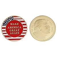 100% nuovo e di alta qualità.Introduzione:bene, è estremamente funzionale, che può essere utilizzato per la raccolta di monete commemorative, artigianato, regali, ecc.Questo tipo di moneta è con presidente americano ritratto, e lui è il quara...
