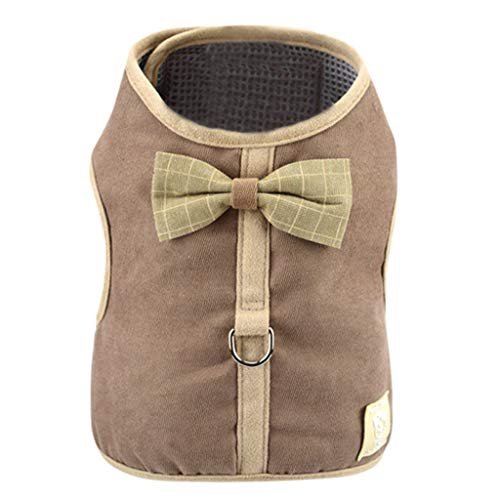 Hawkimin Hundekatze-Kleidung - Hundekatze-Kleidung Jersey-Strick-warme Weste für Hundejacke mit ()