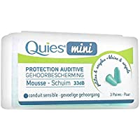 Protection Auditive Mousse 3 Paires Quies preisvergleich bei billige-tabletten.eu