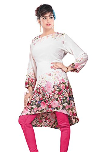 Kurrti JD Women's Top White (Large)