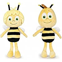 PACK 2 PELUCHES MAYA L'ABEILLE ET WILLY 35 CM