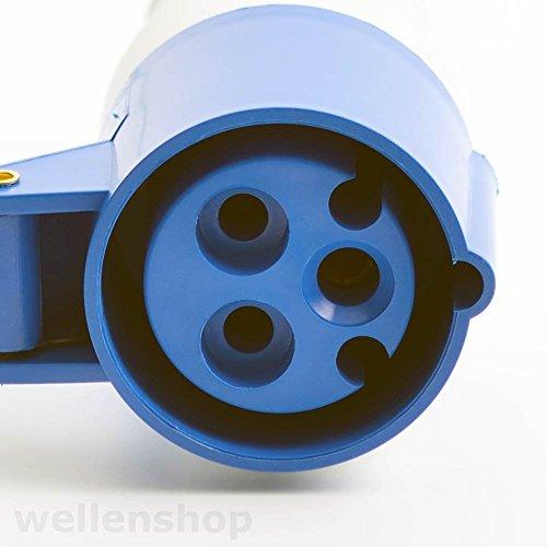 CEE Stecker mit Kupplung 16 A 3 polig - 4