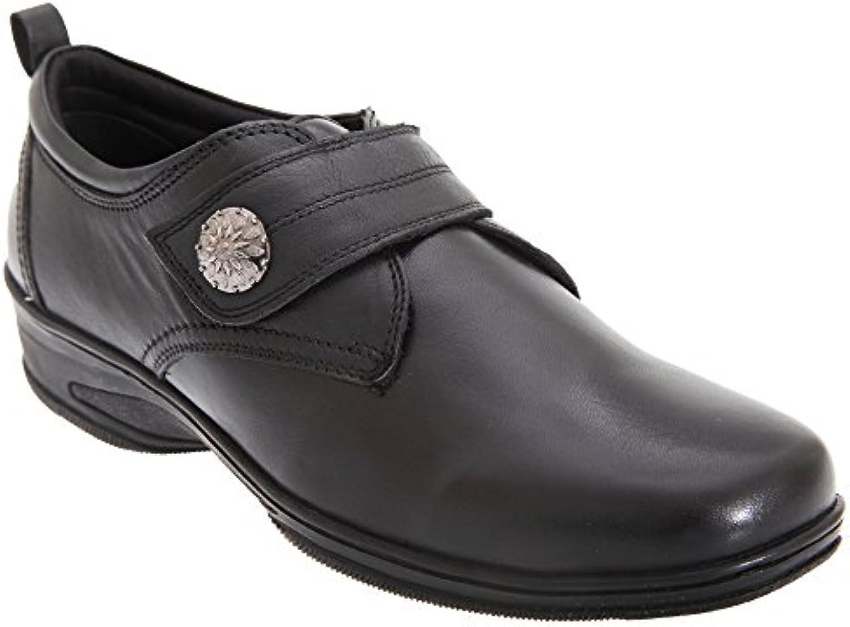 Mod Comfys - Zapatos casuales con cierre adhesivo para mujer