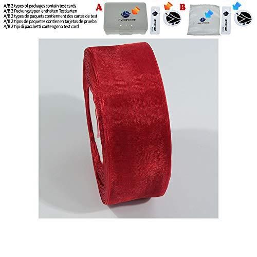 /Rolle Organza Band Großhandel Geschenkpapier Dekoration Weihnachten seidenbänder Spitze Stoff 6/10/15/20/25/40/50mm Nylon,026,10mm ()