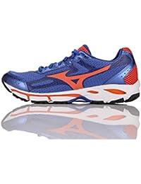 Dettagli su Mizuno Scarpa Running Sneaker Uomo Wave Resolute 2 Nero Arancione