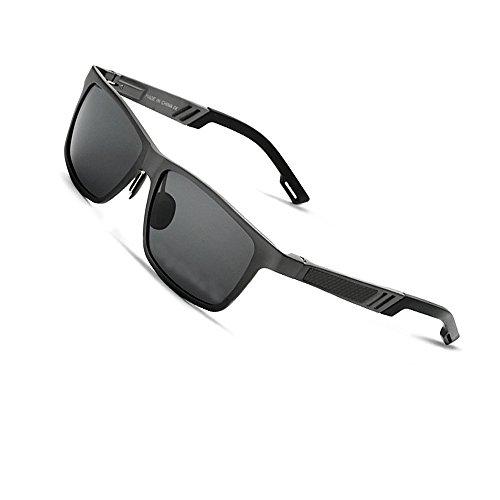 VEITHDIA 6560 Fashion Mirrored UV400 Polarized Driving Sunglasses for Men Women