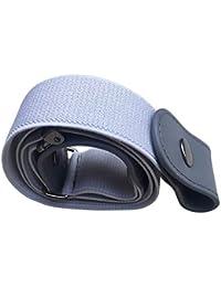 Lanceasy Buckle-Free Elastic Belt No Buckle Stretch Waist Belt for Jean Pants Dresses