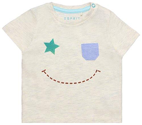 ESPRIT KIDS Baby-Jungen T-Shirt RL1023204, Beige (Heather Cream 114), 62 EU Preisvergleich