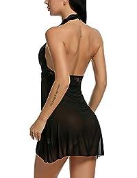 0a23c44a1 Amazon.es  Vestido Negro Sin Espalda - Ropa especializada  Ropa
