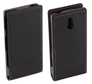 Sony Executive Vertical Flip Case Cover for Xperia U by Made for Xperia - Black