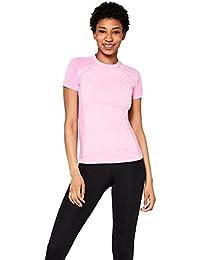 AURIQUE Women's Seamless Sports T-Shirt