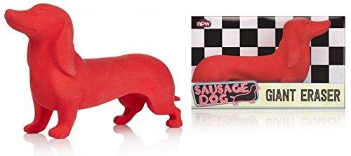 Riesen Hund XXL Radiergummi, Sausage Dog Giant Eraser Büro Schreibwaren Radierer