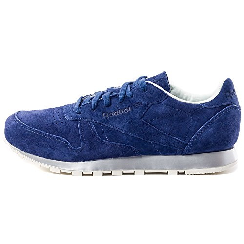 Reebok Classic Leather New Metal Donna Trainers Blu