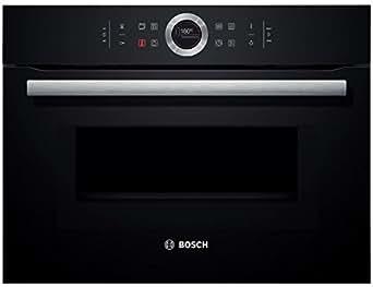 CMG633BB1 BOSCH Four combi micro-ondes 6 modes de cuisson - 1000 W micro-ondes - AutoPilot - éclairage LED Noir