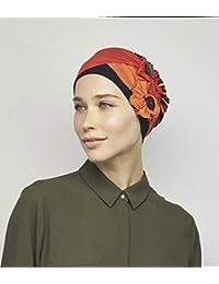 NJ Creation Macaron - Gorro (100% bambú), diseño de rayas, multicolor
