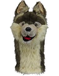 Daphne's Novely - Funda para cabeza de palo de golf, diseño de lobo