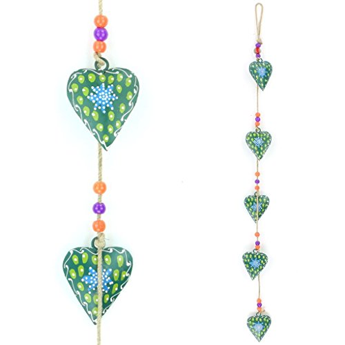 loudelephant-hanging-mobile-decoration-string-of-hearts-green-sand-string