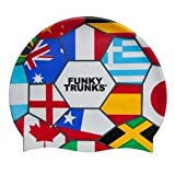 Funky Trunks Rio 14 World Cup Soccer Silicone Cap