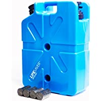 Lifesaver Unisex Jerry Can Aktivkohle Life tragbarer Wasserfilter, blau, 1000 μf