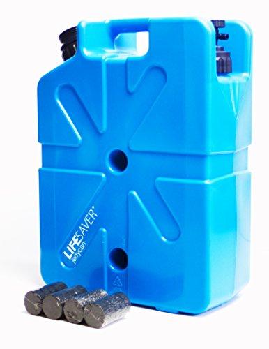 Lifesaver Unisex Jerry Can Aktivkohle Life tragbarer Wasserfilter, blau, 1000 μf -