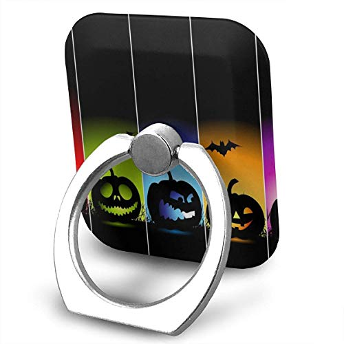 Nicegift Cool Pumpkin Halloween Finger Ring Holder, Universal Cell Phone Ring Grip Stand Support for iPhone Android Phone