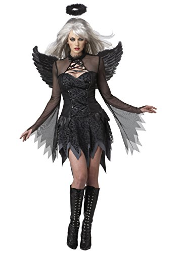 Angels Dress Fallen Fancy Kostüm - Plus Size Women's Sultry Fallen Angel Fancy Dress Costume 3X