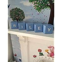 Childrens name blocks, bedroom blocks LISTING IS PER BLOCK