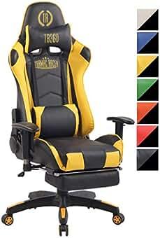CLP Silla Racing Sports Turbo XFM en Cuero PU I Silla Gaming Función de Masaje I