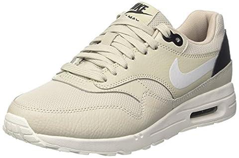 Nike Wmns Air Max 1 Ultra 2.0, les Formateurs Femme, Beige (Pale Grey/Summit White/Black), 38.5 EU