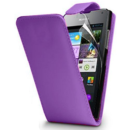 vcompr-housse-coque-etui-rabattable-en-simili-cuir-pour-huawei-ascend-y300-violet