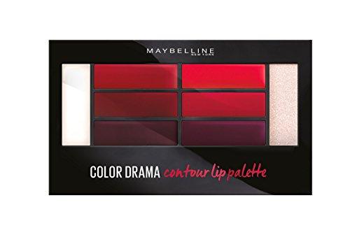 Maybelline New York Lip Contour Palette pour Lèvres Crimson