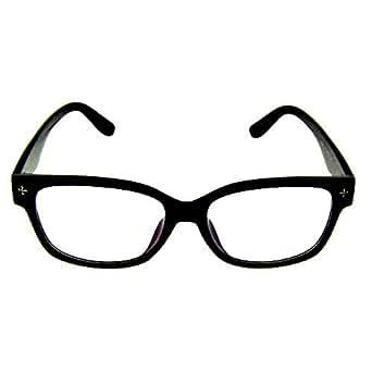 Glasses - women mens designer - Framed Clear - Black mens women new