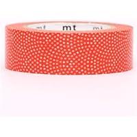Nastro adesivo decorativo Washi mt arancione mini pois