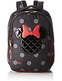 Disney Ultimate M Minnie Mochila Infantil, 20 Litros, Color Negro