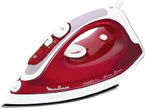 Moulinex IM3155E0 Maestro 55 Fer à Repasser Vapeur Rouge Rubis