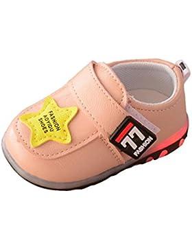 URSING Kleinkind Sport Laufschuhe Jungen Mädchen leuchtende Schuhe Sneakers Kinder Beiläufig Niedlich Sterndruck...