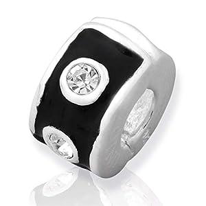 925 Silber Stopper von Unique für Bead Armbänder mit Gewinde BX0019