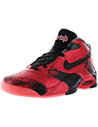 Nike - Zapatillas para hombre black atomic red 7 UK / 41 EU / 8 US