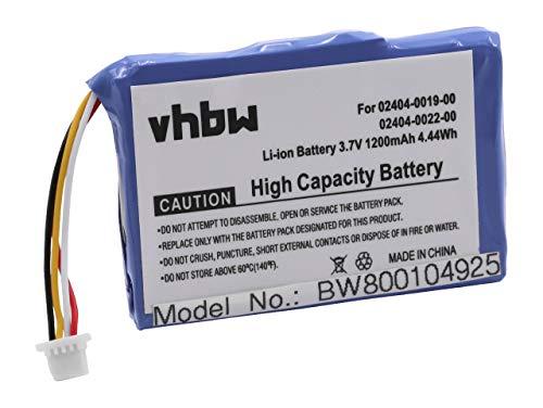 vhbw Akku 1200mAh für Kamera Cisco F460, 3RD Generation, M31120B, M3160, Mino HD, PUDFVM31120B, S1240, U260, U260B, U260W, U260W 4 GB wie LP553450. Mino Camcorder