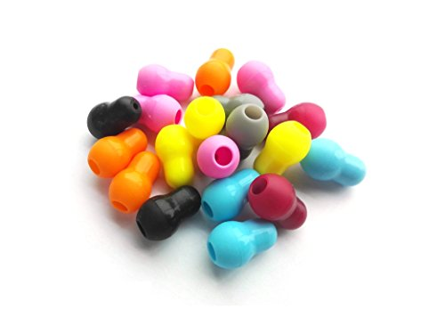 x10 Olivas para Fonendo Estetoscopio Multicolor. [MULTICOLOR]